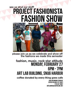Final Fashion Show Flyer | by aliyabarbeque