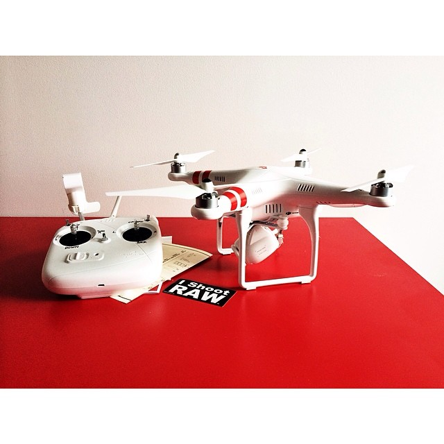 This was what was in the box  It's the DJI Phantom 2 visio