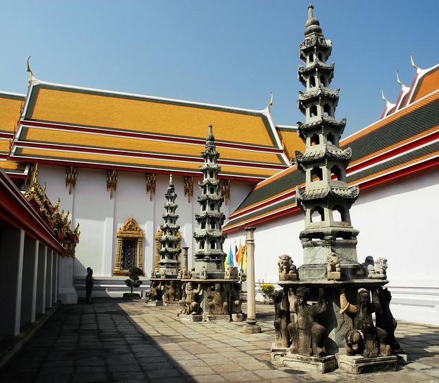 Patio del Wat Pho