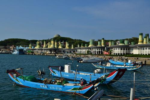圖8.富基漁港是北海岸公路上一處品嚐海鮮美食的知名據點,以新鮮的當令海產著稱。