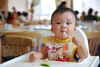Slurp - Isaac eating laghman noodles at Dolan Uyghur Restaurant | by avlxyz
