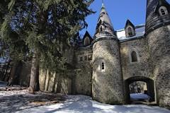 Dundas Castle, Craigie Clare NY by Bennett V
