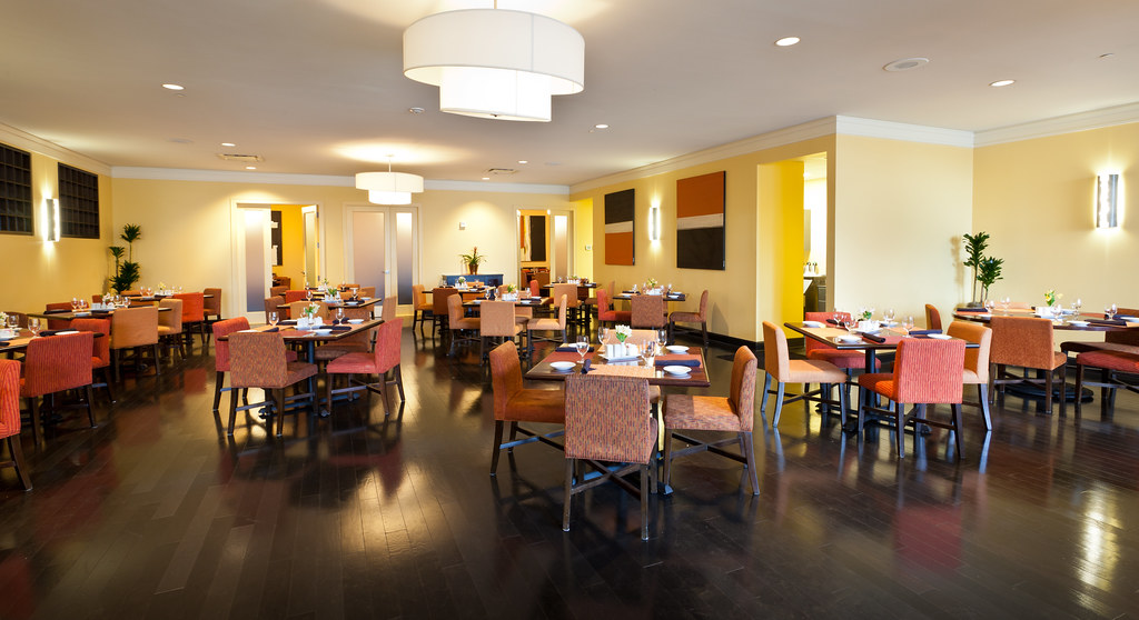 On-site contemporary Creole restaurant, The Landing, open daily for breakfast, lunch and dinner