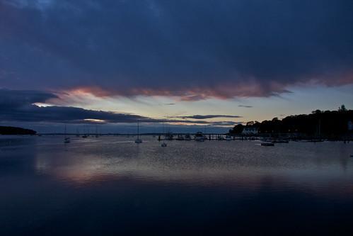 usa america sunrise river boats harbor united maine belfast states yachts passagassawakeag