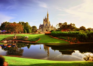 Morning Light on the Magic Kingdom | by Express Monorail
