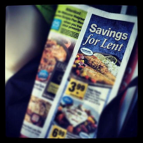 #Lent ad in Safeway circular. | by alvesfamily