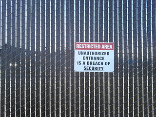 Unauthorized entrance is a breach of security | by Eric Fischer