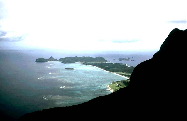 Lord Howe Island - view from Mt - NSW Australia