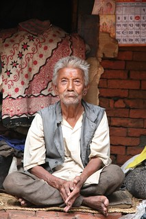 Portraits of Old Age on my Travels Kathmandu Nepal | by In Memoriam Ngaire Hart