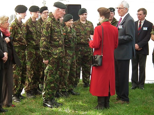 OWH HRH Meeting the cadets | by osmingtonwhitehorse