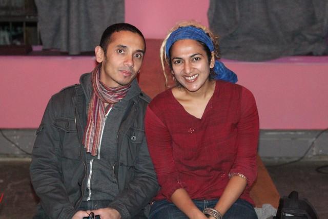 with Arif