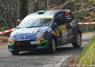 41-DSC_7183 - Renault Twingo Gordini - R2B - Zuccali Alessio-Bortolotti Federica - Meteco Corse | by pietroz