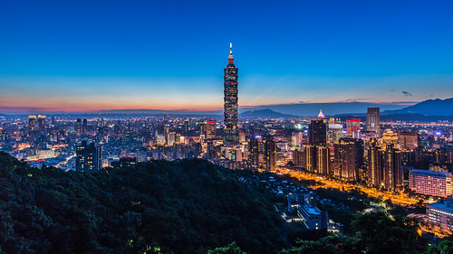 city longexposure red summer urban color building horizontal skyline architecture night skyscraper canon landscape cityscape taiwan nopeople clear 101 nightscene bluehour taipei101 台灣 夜景 風景 紅色 2014 象山 台北101 capitalcity 1635mm 夏季 canoneos5dmarkiii canon5dmarkiii