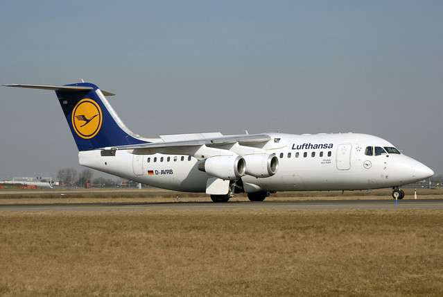 D-AVRB RJ85 cn 2253 Lufthansa CityLine 060313 Schiphol