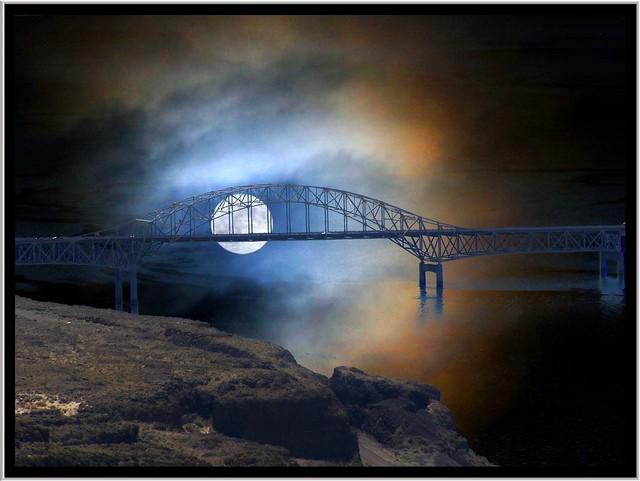 Vantage Bridge ~ Columbia River in Washington State
