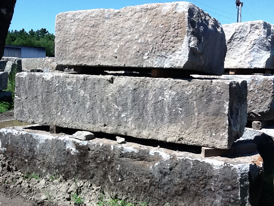 Reclaimed Granite Pier Block | Granite Blocks Reclaimed brid