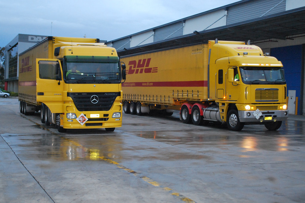 DHL Actross and Argosy