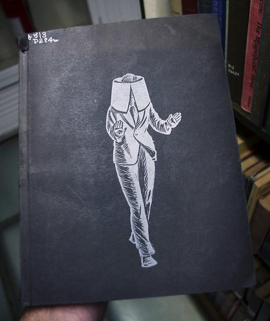 White Collar, c. 1940 - Linocuts by Giacomo G. Patri