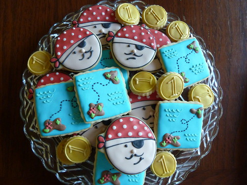 Pirate Themed B-Day Cookies | by kelleyhart