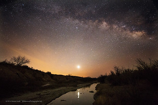 Milky Way over the Pecos River | by Wilderness Photographer