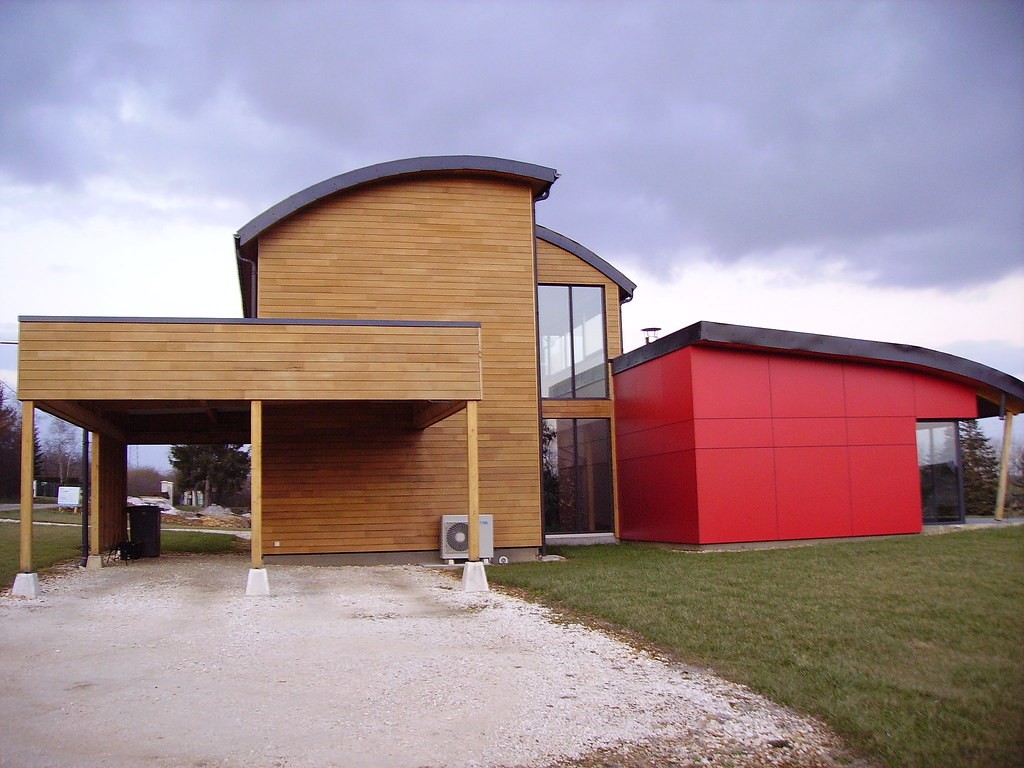 Image De Maison Moderne modern house | maison moderne en bois. nièvre. | jpc24m | flickr