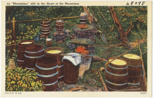 """Moonshine"" still in the heart of the mountain 