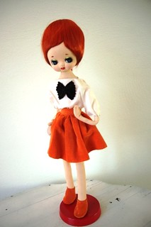 Bow Tie Pose Doll