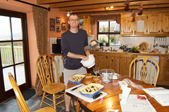 Dunmanus House kitchen