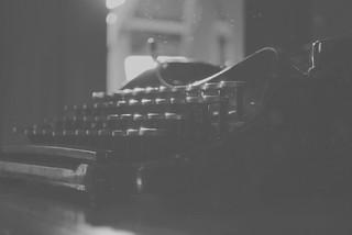 Vintage typewriter. | by Logan Jernigan