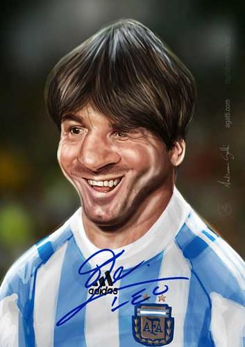 Leo Messi 2 | by http://www.agatti.com