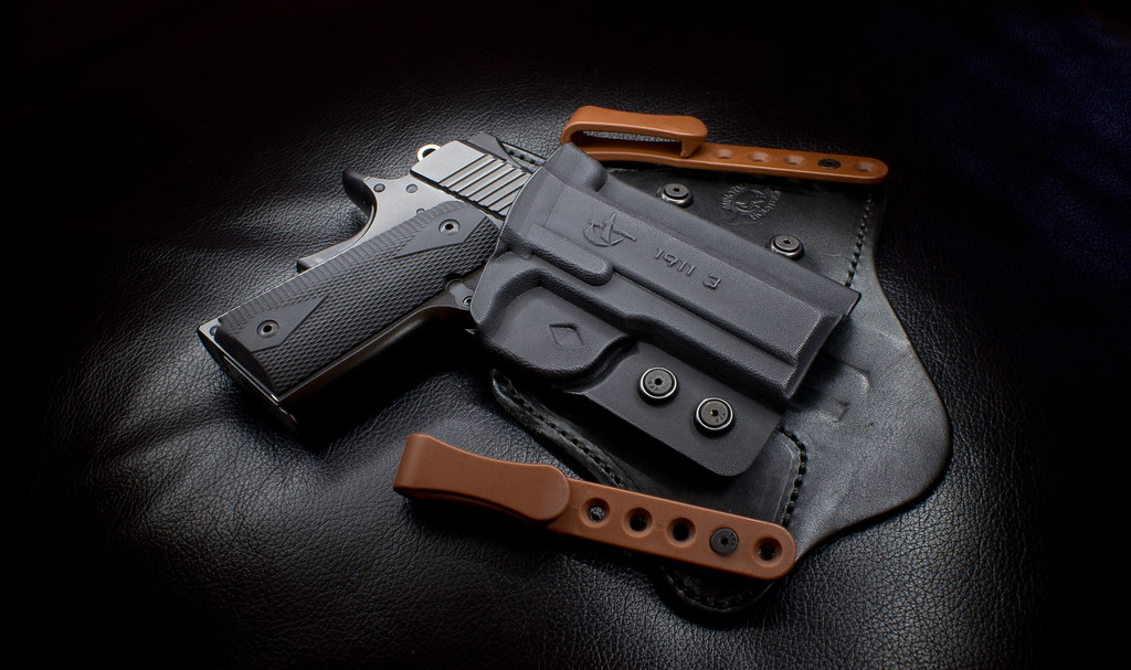 Kimber Ultra Carry II in Comp-Tac Minotaur Holster | Flickr