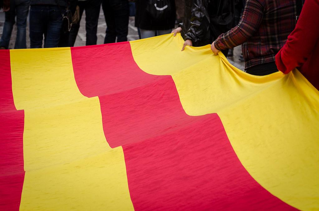 Catalan flag, the Senyera