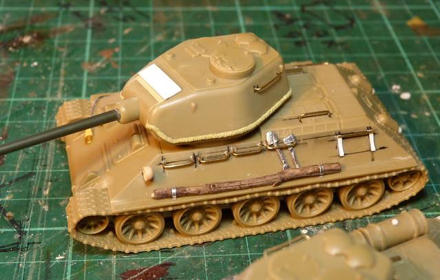 Plastic Soldier Company 1/72 T-34/85 - cast turret mod