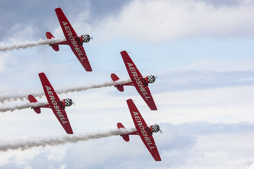 AeroShell Aerobatic Team | by davidmurr