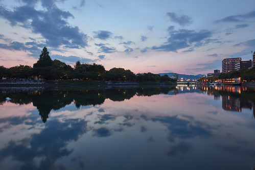 sunset river tse17mmf4l eos5dsr
