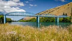 Beautiful bridge at Millers Flat