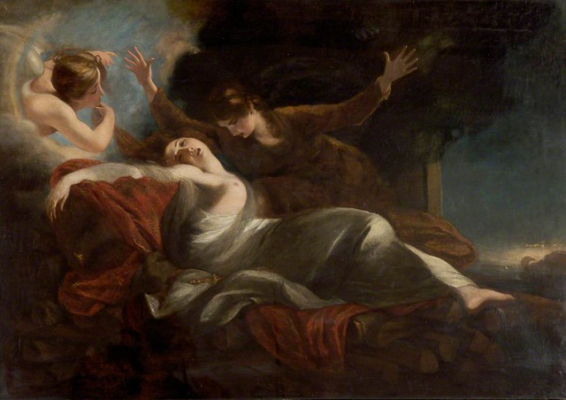 La muerte de Dido
