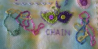 TAST 2012 - Chain Stitch | by Fiberdabbler