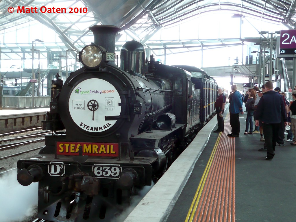 D3 639 At Spencer Street Station by MattOatenVR