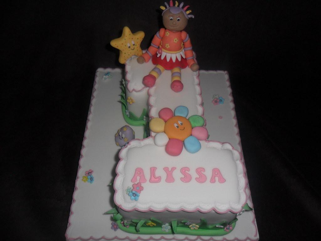 Remarkable In The Night Garden Upsy Daisy No 1 Birthday Cake All Figu Flickr Funny Birthday Cards Online Alyptdamsfinfo