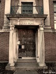 Bradley Memorial Nurses Home, later the Meriden-Wallingford Hospital