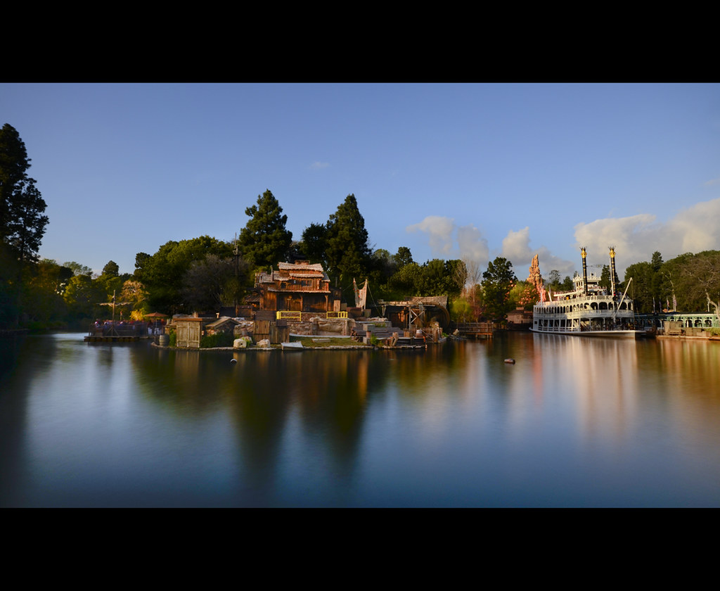 The Rivers Of America At Golden Hour (10 Stop ND Filter
