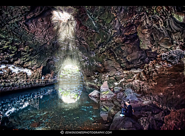 Jameos de Agua Underground lake Lanzarote