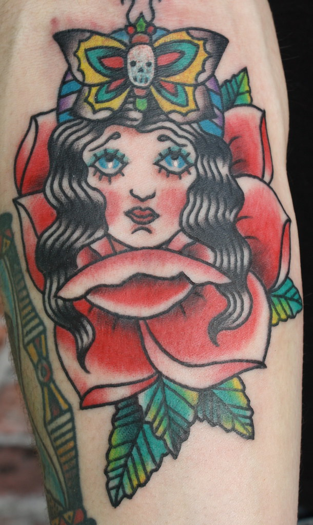 3a919c53d old school gypsy rose tattoo | A Gypsy Rose Tattoo New Orleans | Flickr