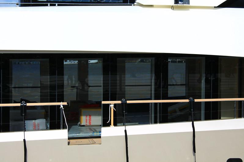 """Les travaux sont en phase finale - """"La Pellegrina"""" - Bordeaux - 15 avril 2012"""