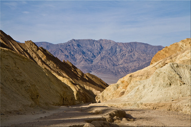 Leaving Golden Canyon