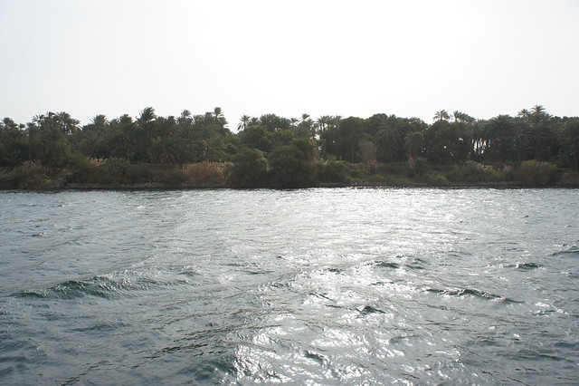 The Nile in Egypt's Aswan