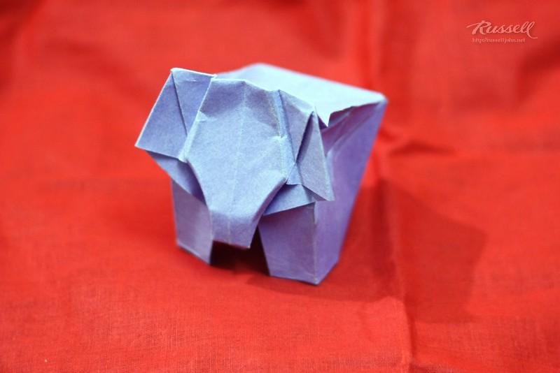 Origami Elephant 2
