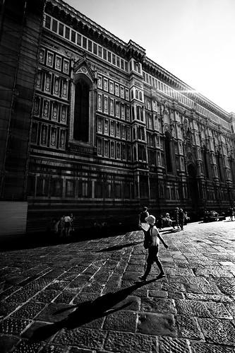 Piazza Duomo a  a Firenze (Toscana)