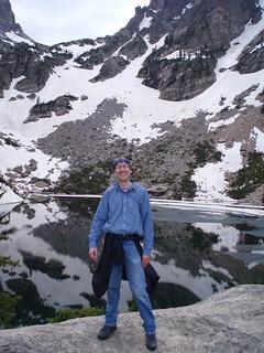 Simon at Emerald Lake,  RMNP